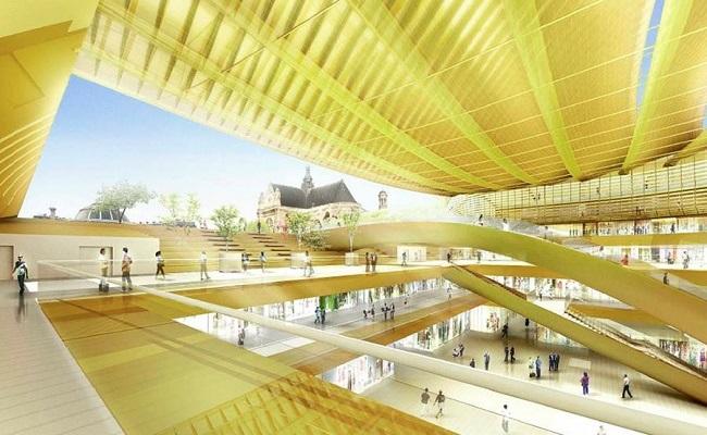 BIM du projet de la Canopée des Halles à Paris